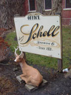 Schell's Brewery sits in a deer park in New Ulm, MN - photo by Lucy Saunders